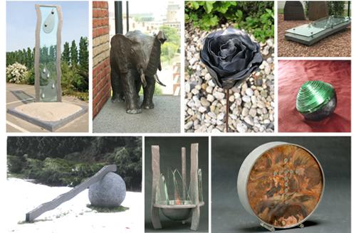 Sonderanfertigungen von Urnen und Aschen-Anhänger