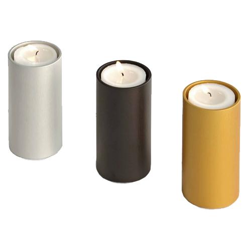 Urnen mit Kerze